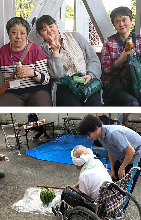 青森県弘前市にある、障がい者支援施設、拓光園グループ。事業所「障害者支援施設拓光園」