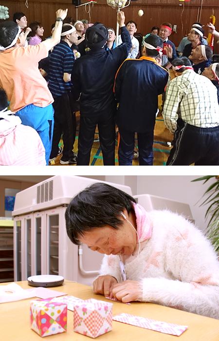 青森県弘前市にある障がい者支援施設拓光園グループ。取組み内容